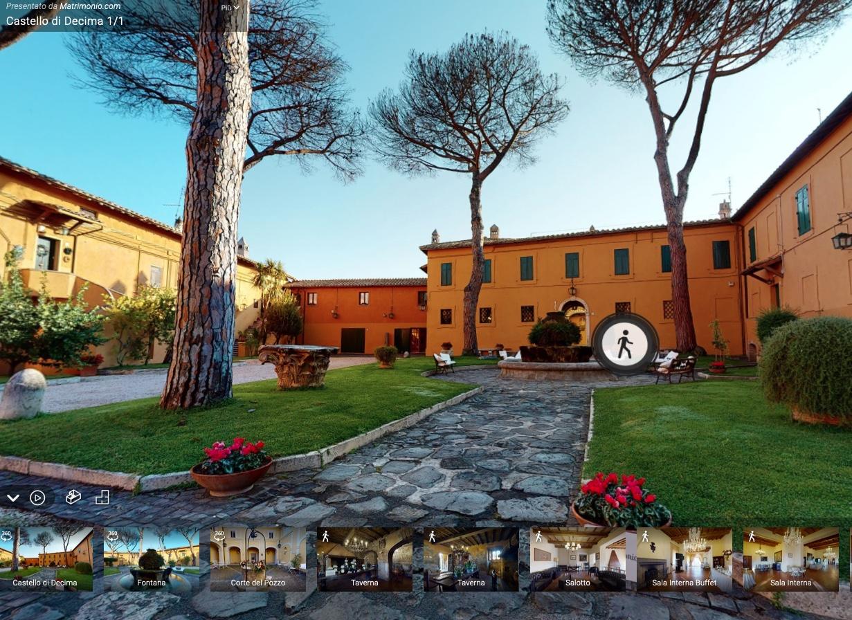 virtual-tour Castello Decima